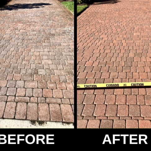 Brick Paver cleaning & sealing | Yellow Pages Network B2B