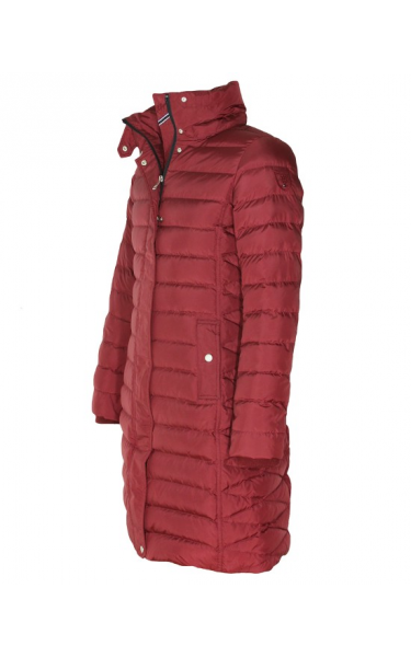 e2df3e9bad5c9 Płaszcz damski TOMMY HILFIGER valentina down coat (bordo) - Toger ...
